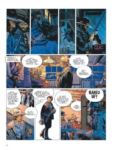 Page 4 La jeunesse de blueberry tome 7 - la poursuite impitoyable