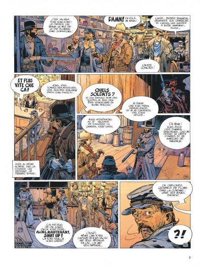 Page 5 La jeunesse de blueberry tome 7 - la poursuite impitoyable