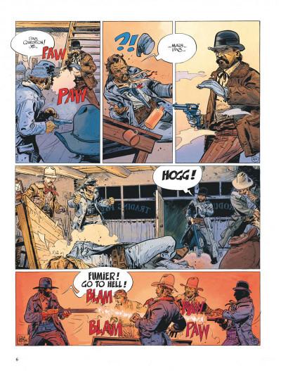 Page 6 La jeunesse de blueberry tome 7 - la poursuite impitoyable