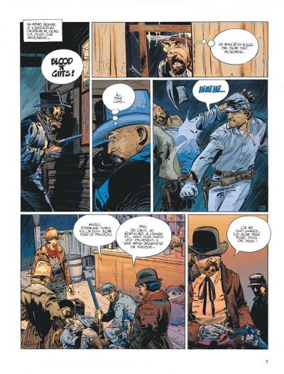 Page 7 La jeunesse de blueberry tome 7 - la poursuite impitoyable
