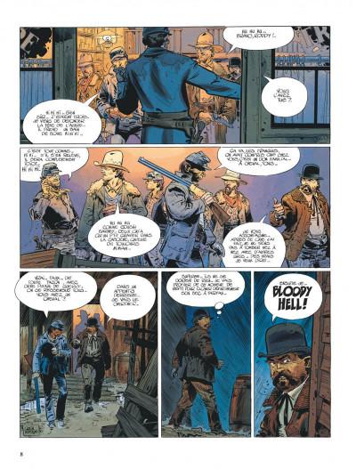Page 8 La jeunesse de blueberry tome 7 - la poursuite impitoyable