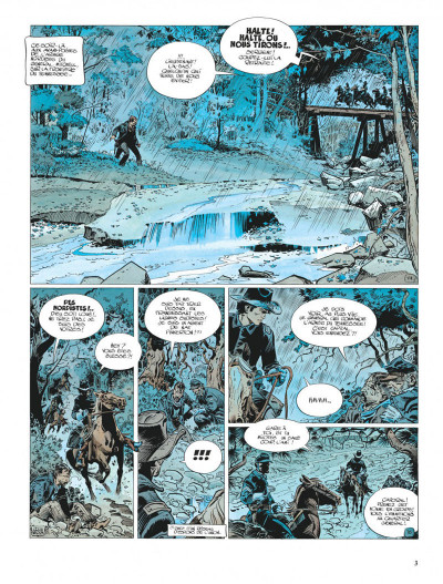 Page 3 La jeunesse de blueberry tome 6 - le raid infernal