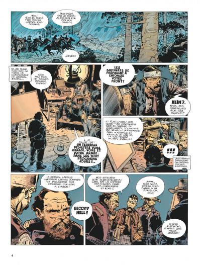 Page 4 La jeunesse de blueberry tome 6 - le raid infernal