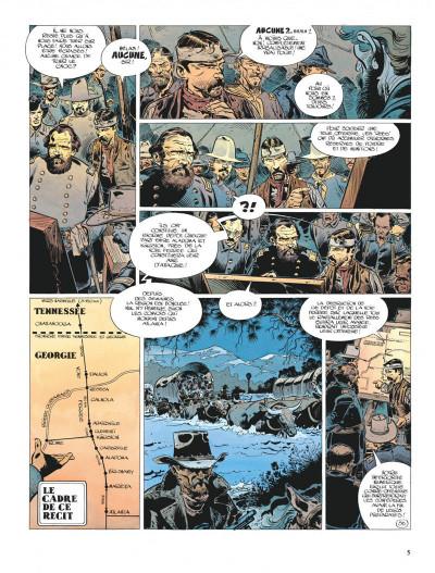 Page 5 La jeunesse de blueberry tome 6 - le raid infernal
