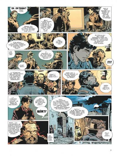 Page 7 La jeunesse de blueberry tome 6 - le raid infernal
