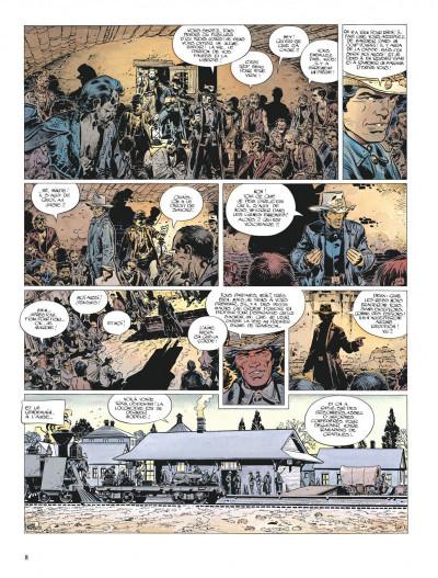 Page 8 La jeunesse de blueberry tome 6 - le raid infernal