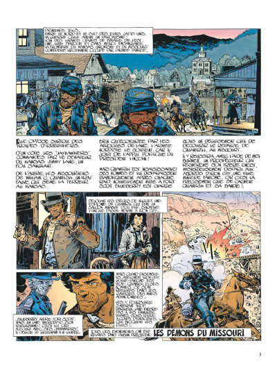 Page 3 La jeunesse de blueberry tome 5