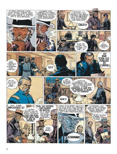 Page 8 La jeunesse de blueberry tome 5