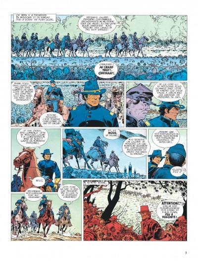 Page 3 La jeunesse de blueberry tome 4