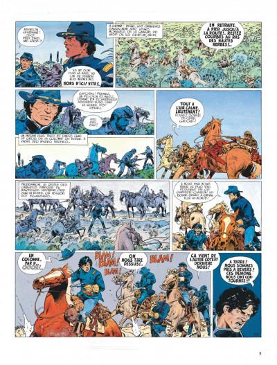 Page 5 La jeunesse de blueberry tome 4