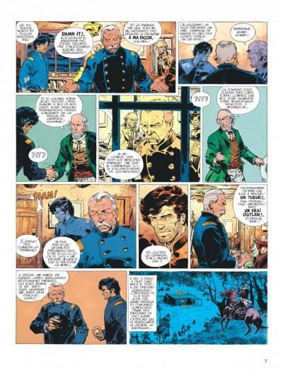 Page 7 La jeunesse de blueberry tome 4