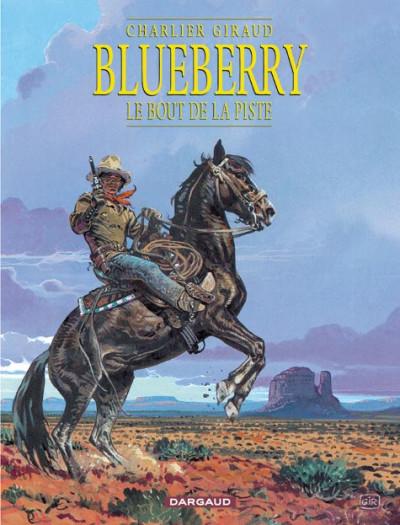 Couverture Blueberry tome 22 - le bout de la piste