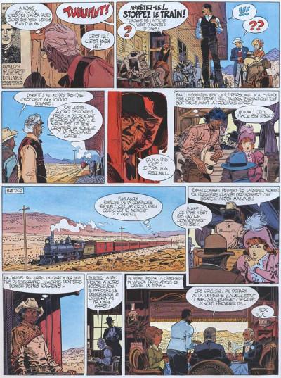 Page 2 Blueberry tome 22 - le bout de la piste