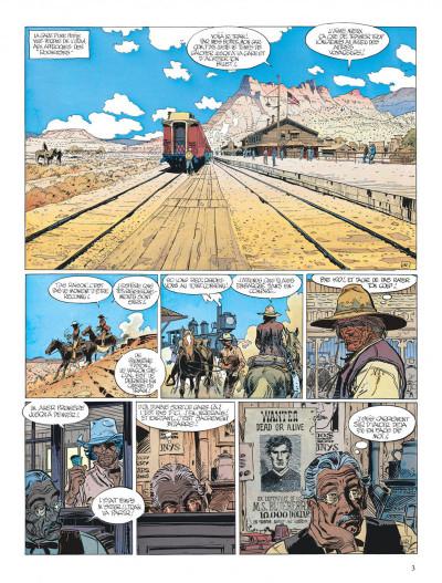 Page 3 Blueberry tome 22 - le bout de la piste
