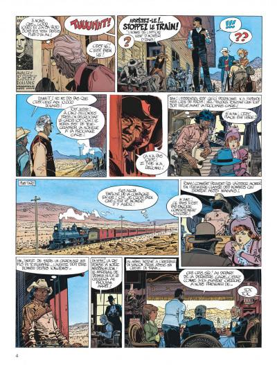 Page 4 Blueberry tome 22 - le bout de la piste
