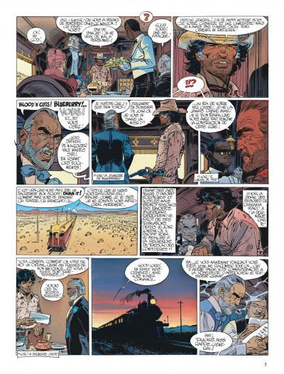 Page 5 Blueberry tome 22 - le bout de la piste