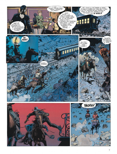 Page 7 Blueberry tome 22 - le bout de la piste