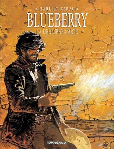 Couverture Blueberry tome 21 - la dernière carte