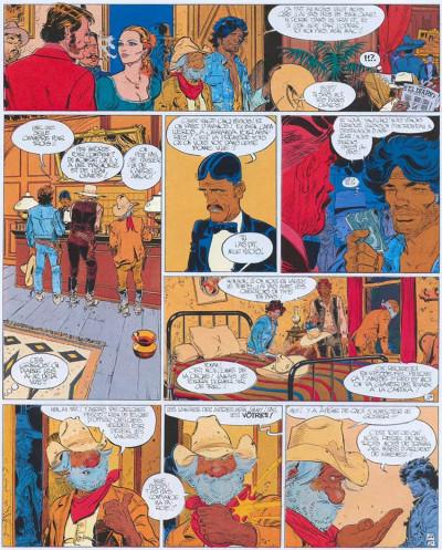 Page 2 Blueberry tome 21 - la dernière carte