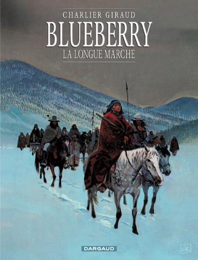 Couverture Blueberry tome 19 - la longue marche