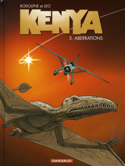Couverture Kenya tome 3 - aberrations