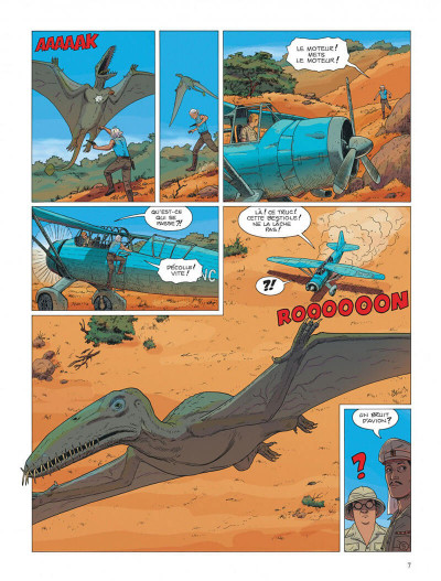Page 7 Kenya tome 3 - aberrations