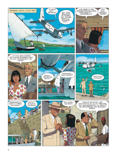 Page 8 Kenya tome 3 - aberrations