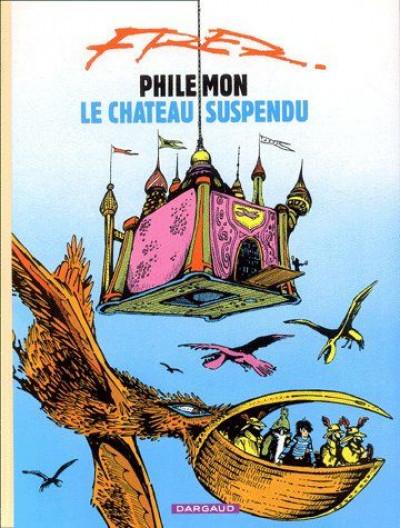 Couverture Philemon tome 4 - le château suspendu