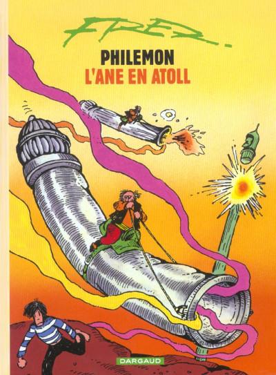 Couverture Philemon tome 10 - l'âne en atoll
