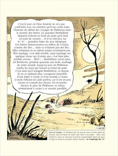 Page 1 Philemon tome 10 - l'âne en atoll
