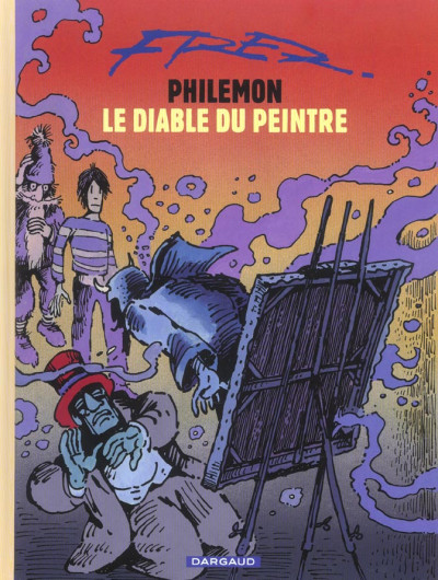Couverture Philémon tome 15 - le diable du peintre
