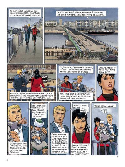 Page 4 Tramp tome 7 - escale dans le passe