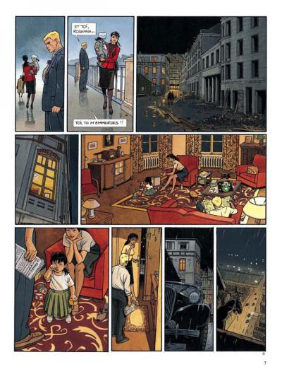 Page 5 Tramp tome 7 - escale dans le passe