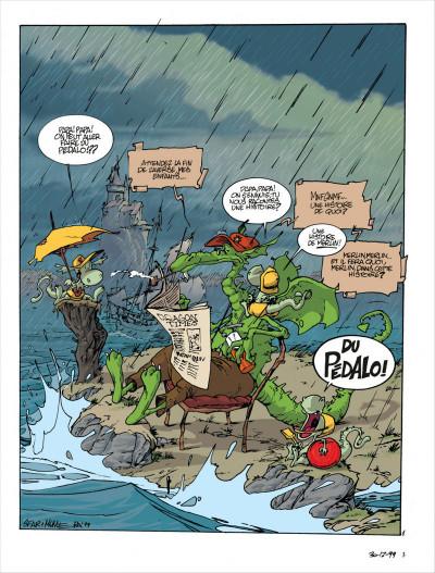 Page 3 Merlin tome 3 - merlin va a la plage