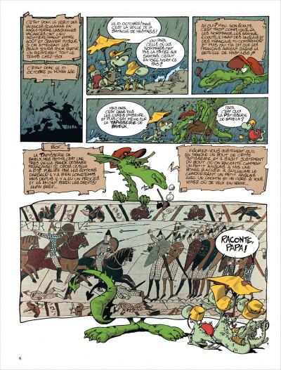 Page 6 Merlin tome 3 - merlin va a la plage