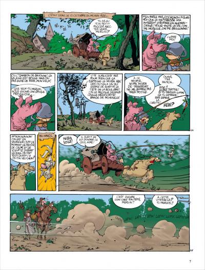 Page 7 Merlin tome 3 - merlin va a la plage