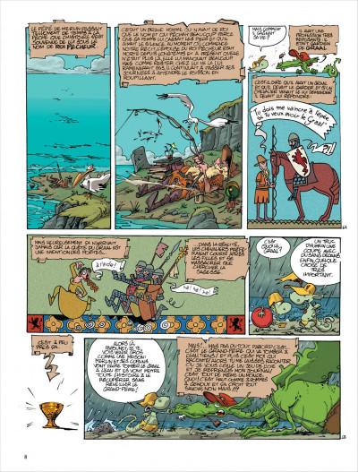 Page 8 Merlin tome 3 - merlin va a la plage