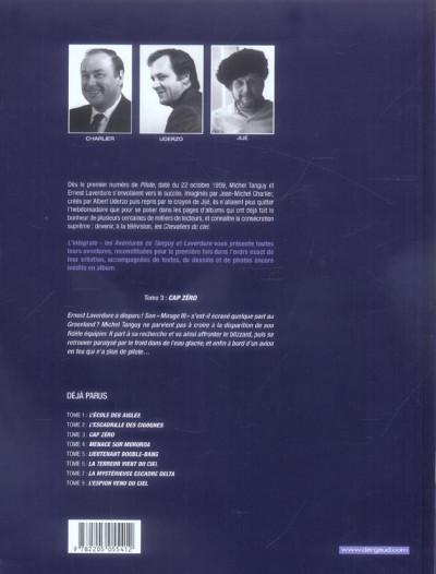 Dos tanguy et laverdure - intégrale tome 3 - cap zéro