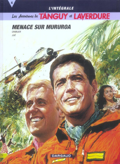 image de Tanguy et laverdure - intégrale tome 4 - menace sur mururoa