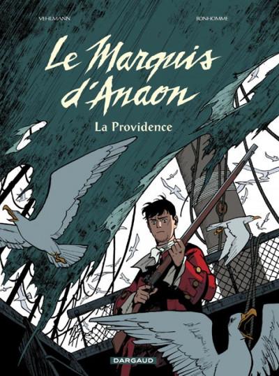 Couverture Le marquis d'anaon tome 3 - la providence