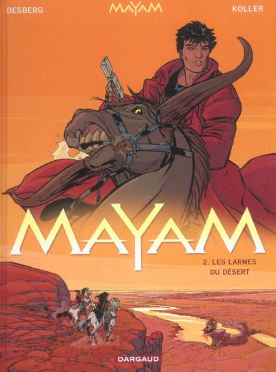 Couverture Mayam tome 2 - les larmes du désert