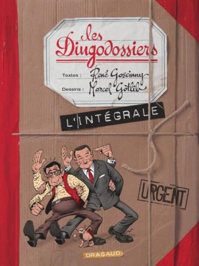 Couverture Les dingodossiers - intégrale tome 1 à tome 3