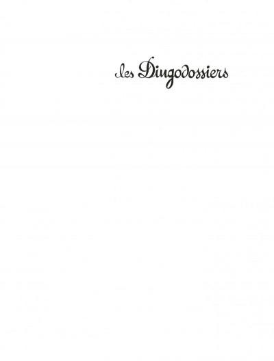 Page 3 Les dingodossiers - intégrale tome 1 à tome 3