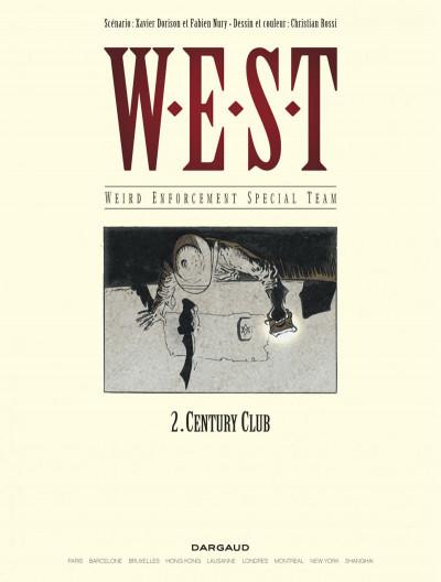 Page 1 W.e.s.t tome 2 - century club
