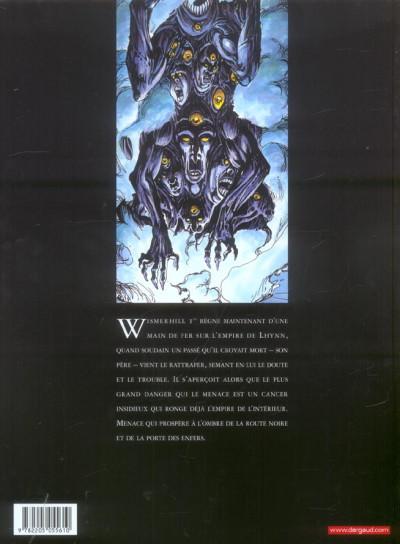 Dos Chroniques de la lune noire tome 12 - la porte des enfers