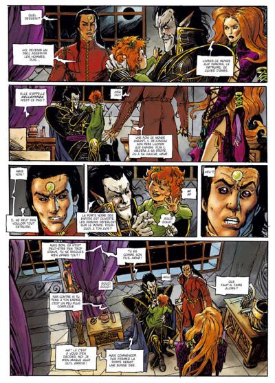 Page 4 Chroniques de la lune noire tome 12 - la porte des enfers