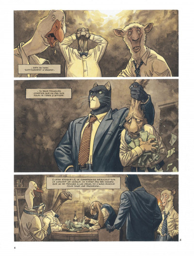 Page 4 Blacksad tome 3