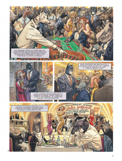 Page 5 Blacksad tome 3