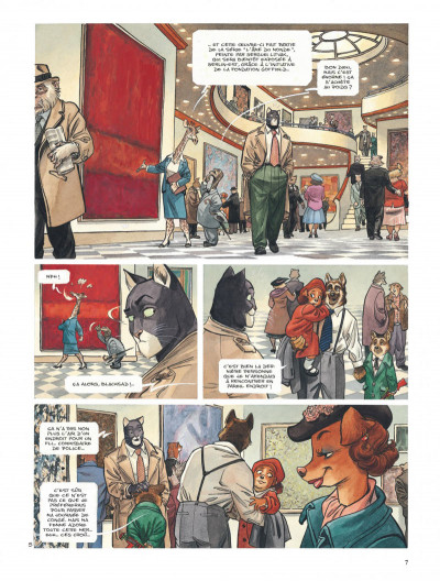 Page 7 Blacksad tome 3