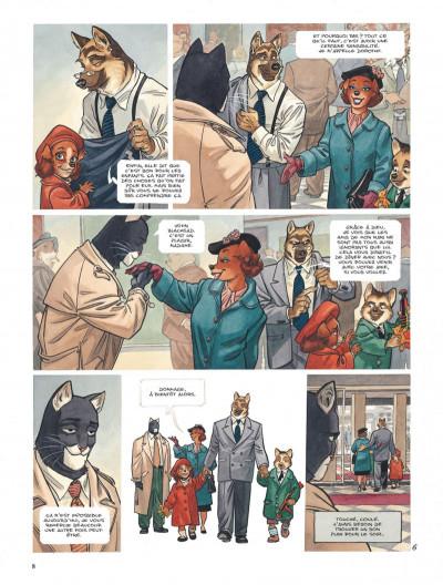 Page 8 Blacksad tome 3